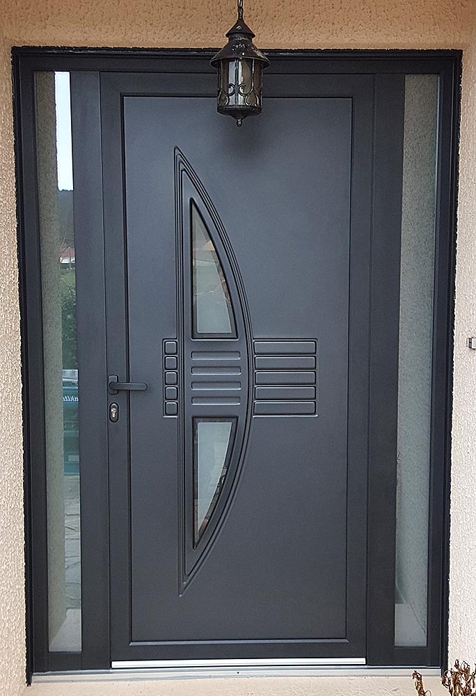 Aluminium Nuno  Menuiserie Porte Fentre Portail  Portes DEntre